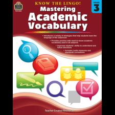 Know the Lingo! Mastering Academic Vocabulary Grade 3