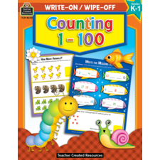 Counting 1-100 Write-On/Wipe-Off Book