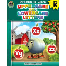 Practice to Learn: Uppercase and Lowercase Letters Grade K