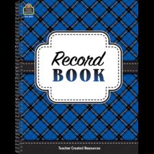 Plaid Record Book