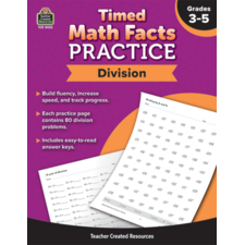 Timed Math Facts Practice: Division