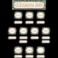 Eucalyptus Classroom Jobs Mini Bulletin Board