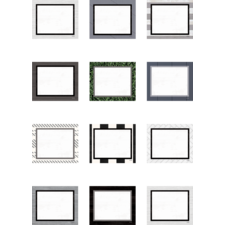 Modern Farmhouse Blank Cards Mini Accents