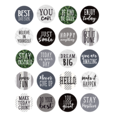 Modern Farmhouse Words to Inspire Planner Stickers