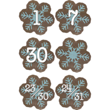 Home Sweet Classroom Snowflakes Calendar Days
