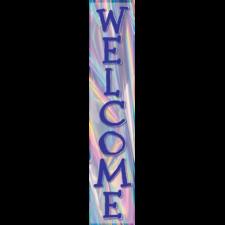 Iridescent Welcome Banner