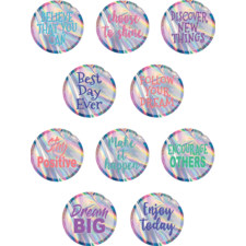 Iridescent Positive Sayings Accents