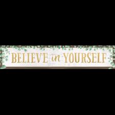 Eucalyptus Believe in Yourself Banner