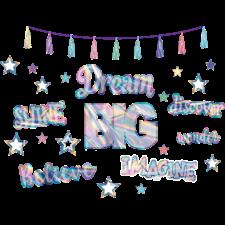 Iridescent Dream Big Bulletin Board Display
