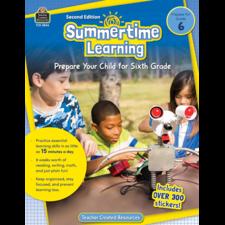 Summertime Learning Grade 6