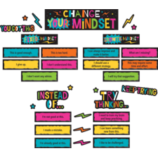 Change Your Mindset Mini Bulletin Board
