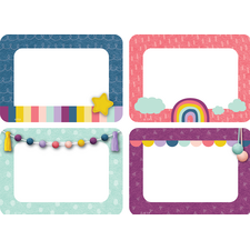 Oh Happy Day Name Tags/Labels - Multi-Pack