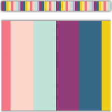 Oh Happy Day Stripes Straight Border Trim