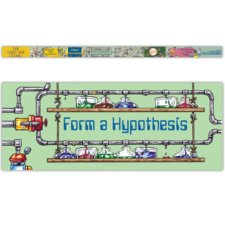 The Scientific Method Chalkboard Topper