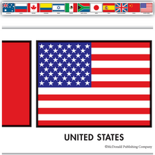 Flags of Nations Borders Border Trim