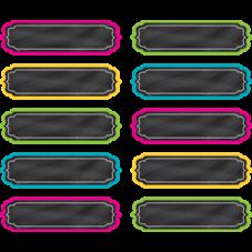 Chalkboard Brights Labels