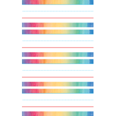Watercolor Word Strips