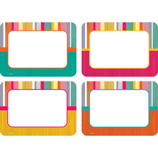 Tropical Punch Name Tags/Labels - Multi-Pack