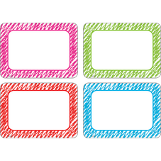 Scribble Name Tags/Labels - Multi-Pack