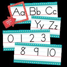 Marquee Alphabet Line Bulletin Board Display Set