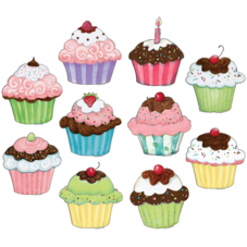 Cupcakes Accents from Susan Winget