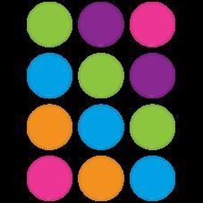 Bright Colors Circles Mini Accents