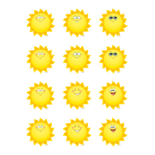 Happy Suns Mini Accents