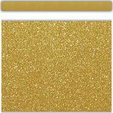 Gold Shimmer Straight Border Trim