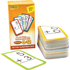 Addition Flash Cards - All Facts 0–12