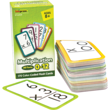 Multiplication Flash Cards - All Facts 0-12