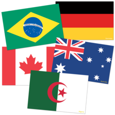 International Flags Accents