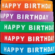Happy Birthday Wristbands