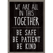 We Are All in This Together Positive Poster