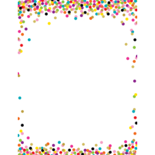 Confetti Blank Chart