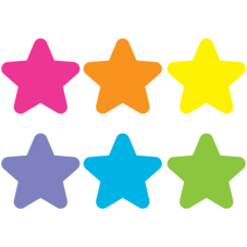 "Spot On Carpet Markers Bright Stars - 7"""