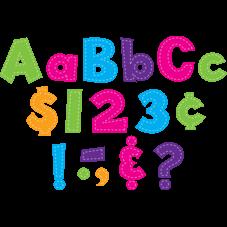 """Multi Bright Stitch 4"""" Fun Font Letters"""