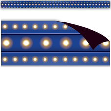Dark Blue Marquee Magnetic Border