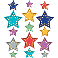 Clingy Thingies Marquee Stars Accents