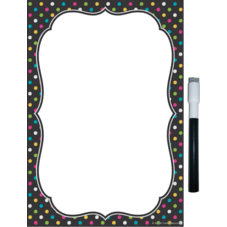 Clingy Thingies Chalkboard Brights Small Note Sheet