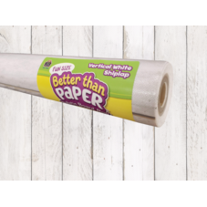 Fun Size Vertical White Shiplap Better Than Paper Bulletin Board Roll