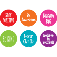 """Spot On Floor Markers Positive Sayings - 4"""""""