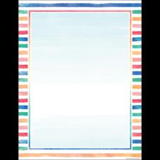 Watercolor Blank Chart
