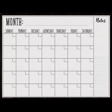 Modern Farmhouse Calendar Write-On/Wipe-Off Chart