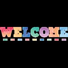 Watercolor Welcome Bulletin Board Display Set