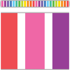 Colorful Stripes Straight Border Trim