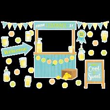 Lemon Zest Lemonade Stand Bulletin Board