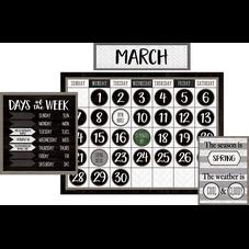 Modern Farmhouse Calendar Bulletin Board