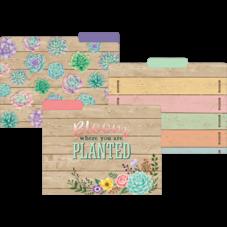 Rustic Bloom File Folders