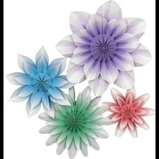 Floral Bloom Paper Flowers