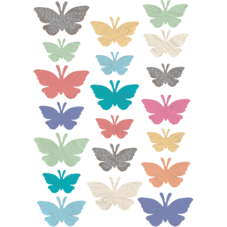Home Sweet Classroom Butterflies Accents - Assorted Sizes
